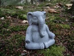 Buddha Home Decor Statues by Elephant Statue Lucky Elephant Buddha Elephant Meditating