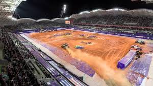 best monster truck show monster jam world tour melbourne u0027s aami park timelapse youtube