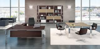 bureau chrome meuble bureau direction luxe