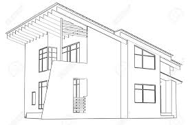 Residential Ink Home Design Drafting House Architecture Drawing Home Design Ideas