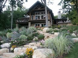 Rock Garden Steps by Country Exterior Of Home With Cabin By Randy Thelen Zillow Digs