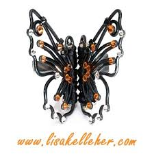 butterfly hair butterfly monarch hair midnight kelleher