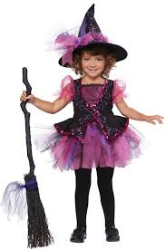 Witch Halloween Costumes Story Book Witch Toddler Halloween Costume Walmart Com