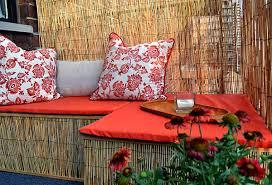 bambus fã r den balkon chestha dekoration balkon dekor