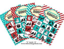 11 free printable christmas bingo games family