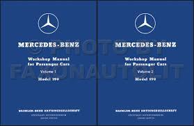 1955 1963 mercedes 190 repair workshop manual reprint