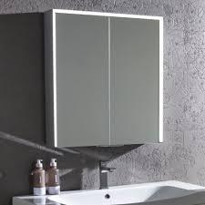 Lighted Bathroom Mirror Cabinets Mirror Design Ideas Hib Vera Illuminated Bathroom Cabinets