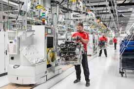 porsche factory take a look at porsche u0027s new v8 engine factory