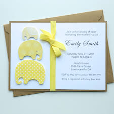 handmade baby shower invitation baby shower invitations