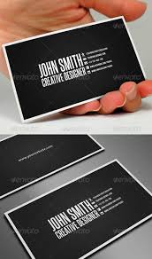 black and white clean business card template best business card