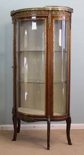 Glass Display Cabinets Newcastle Antique Victorian Vitrine Display Cabinet London Cambridge 09625