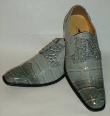 light grey dress shoes mens refined light gray croco embossed pointed toe dress shoes