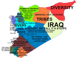 Damascus Syria Map by Syria Stereotypes Map U2013 Atlantic Sentinel
