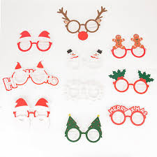 christmas glasses accessories 10 pairs of glasses christmas children s