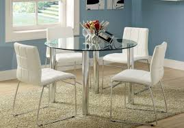 Leather Dining Room Chairs For Sale Dining Room Riveting Horrifying White Leather Dining Table And