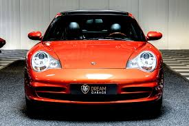 orange porsche targa dream garage sold carsporsche porsche 911 996 carrera 2 targa