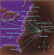 map usa bermuda where is bermuda located