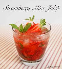 mint julep cocktail strawberry mint julep recipe culicurious