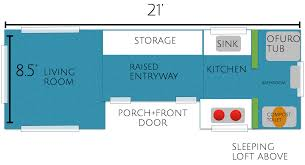 floor micro house floor plans