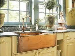 kitchen 48 318993 l hammered perenna copper farmhouse sink