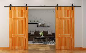 Installing A Sliding Barn Door Ideas Sliding Barn Doors With Sliding Barn Door Installation Also