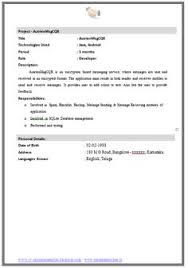 mechanical engineer resume for fresher resume formats things