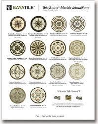 marble travertine floor medallions marble medallions