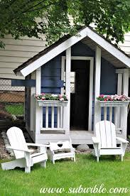 Backyard Play House The 25 Best Backyard Playhouse Ideas On Pinterest Kids