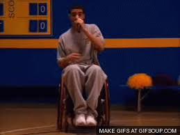 Drake Wheelchair Meme - yet another way that drake is making his mark on toronto photos
