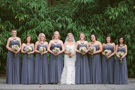 bridesmaid statement necklaces pewter gray bridesmaids with statement necklaces pewter