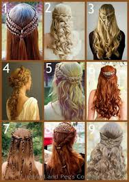 celtic wedding hairstyles nine different celtic hairstyles for wedding and other appearances