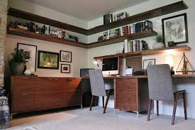 Modern Built In Desk by Mid Century Modern Home Office Ideas U2013 Inspirations Essential Home