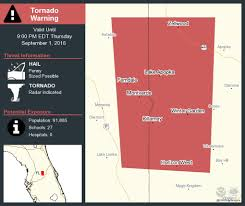 take cover tornado warning continues for winter garden fl