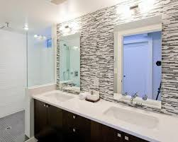 glass tile backsplash ideas bathroom find this pin and more on bathroom vanities amazing of bathroom