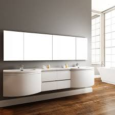 White Freestanding Bathroom Furniture by Bathroom Contemporary Bathroom Design With Modern White Wall