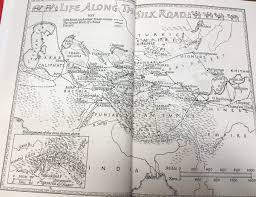 Silk Road Map The Silk Road Hist 180