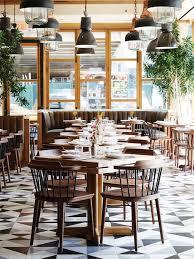charming restaurant interior design in small home interior ideas