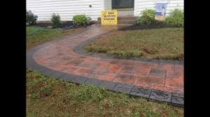 how to install paver patio how to install a 6x6 border pavers in a walkway nicolock terra