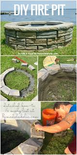 How To Make Firepit by Remodelaholic Diy Retaining Wall Block Fire Pit