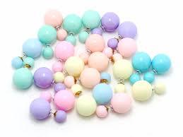 two sided earrings aliexpress buy artificial pearl earrings sided