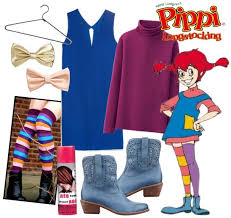 Pippi Longstocking Costume Easy And Fun Halloween Costume Ideas From Your Closet Part 2