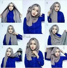 tutorial jilbab jilbab hijab jilbab segitiga hijab style 6