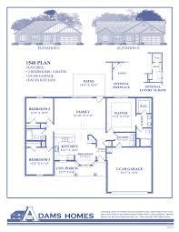 Eat In Kitchen Floor Plans by Modren Adams Homes Floor Plans Available Ranch Inside Inspiration