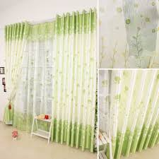 Green And White Curtains Decor Living Room Sofa Green And White Curtains Rustic Chic