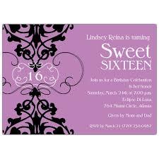 sweet 16 birthday invitations templates sweet 16 invitations