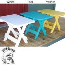 Plastic Outdoor Side Table Small Plastic Folding Side Table Outdoor Patio Tables Ideas