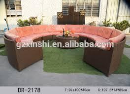 canape forme ronde 2017 forme ronde coupe pe rotin canapé ensemble loisirs meubles en