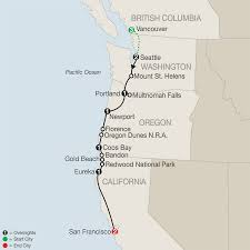 America Map San Francisco by America National Park Vacation Packages U0026 Tours Globus