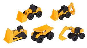 amazon com toy state caterpillar construction mini machine 5 pack