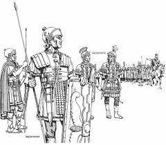 roman guard coloring google roman
